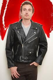 higgs leathers stock brando motorcycle black leather jacket for men j 1069 at uk