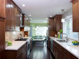 Galley Style Kitchen Layout Small Kitchen Layouts Pictures Ideas Tips From Hgtv Hgtv