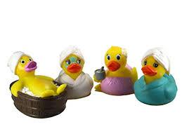 ducky city 3 spa assortment rubber ducks 4 sealed hole no mildew floats upright imaginative baby toddler safe bathtub bathing toy