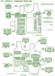 defogger relaycar wiring diagram page 4 1995 toyota camry le instrument panel fuse box diagram