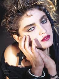 80s makeup madonna s makeup and popped collars madonna rolling stone october 29 2009