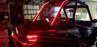 Utv Led Light Strips Flexible Led Array Utv Rail Tail Lights