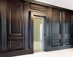 image of modern wood paneling for walls