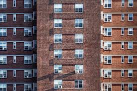 Free Photo Apartment Building Height Windows High Free