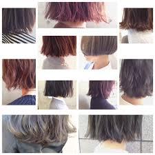 明るめハイライトで透明感ある春カラーをwカラーでなりたい髪色に