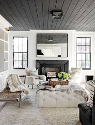 Modern white living room furniture Wooden Turn An Ordinary Space Into Something Extraordinary By Painting Ceiling In Your Home In An Unexpected Color Here Are Six Ceiling Paint Colors That Were Pinterest Paint Colors That Make Splash On Ceilings In 2019 Home