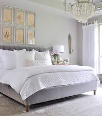 how to make a beautiful bed. Delighful Make Beautiful Gray And White Bedroom With Statement Chandelier Throughout How To Make A Bed T