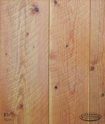 rustic circle sawn fir flooring