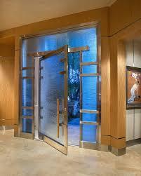 metal exterior doors glass front doors entry with oversized front door stainless steel trim frosted glass metal exterior doors