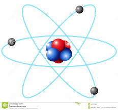 Diagram Of An Atom Periodic Symbol And Diagram Of Xenon Stock Vector Illustration Of