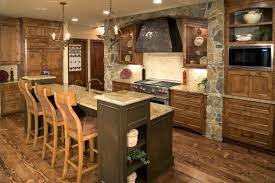 Rustic Kitchen Flooring Kitchen Attractive Modern Rustic Kitchen Cabinet Hardware With