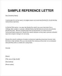 Recommendation Letter For Student Scholarship Pdf How To Write A Personal Reference Letter For A Scholarship All