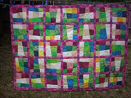 29 best Quilts -- Crazy 9 Patch images on Pinterest | Patches ... & Crazy nine patch quilt for single bed Adamdwight.com