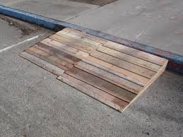 picture of the curb ramp