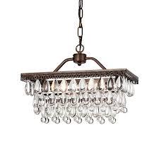 lalula crystal chandelier lighting rectangular bronze chandeliers over dining table 2 lights