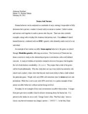 nature nurture essay adrienne burkhart nature vs nurture debate  nature nurture essay adrienne burkhart nature vs nurture debate nature and nurture human behavior can be analyzed in a multitude of ways making it