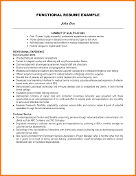 Resume Qualifications Samples Qualifications Resume Example Examples Of Resumes 16