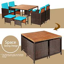 with cushions space saving dining table