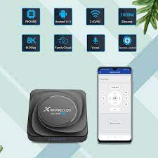 TV Box Android 11 X88 PRO 20 8GB RAM 128GB ROM Android TV Box Youtube 8K  Google Play Smart TV Box 32GB 64GB RK3566 - Flash Sale #D977F