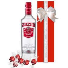 smirnoff vodka 700ml gift wrapped