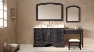 Double sink vanities with makeup area double vanity bathroom bathroom with makeup vanity master bathroom vanity. Single Sink Vanity With Makeup Area Saubhaya Makeup