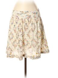 Details About Zadig Voltaire Women Ivory Casual Skirt 36 Eur