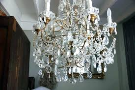 diy crystal beaded chandelier round shade pottery barn home improvement scenic ch