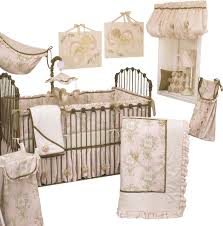 lollipops and roses 7pc crib bedding set traditional baby