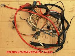 wiring harness , lawn mower grave yard equipment used tractor ford 9n wiring schematic at Universal Wiring Harness Ford Garden Tractor