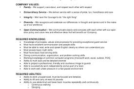 Target Cashier Job Description For Resume Job Profile Resume Example Baristaon Samples Examplesons And Duties 18