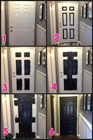 inside front door colors. White Front Door Inside. Hallway Makeover Part 2 Black Doors Inside Painted What Colors O
