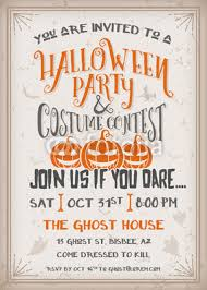 Halloween Party And Costume Contest Invitation Buy Photos Ap