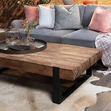 baxter sawn coffee table by lombok in
