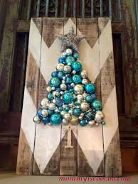 how to make a chevron pallet ornament christmas tree, crafts, pallet,  seasonal holiday