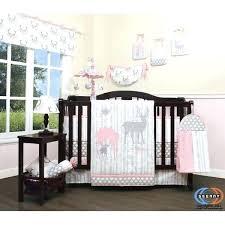grey nursery bedding baby girl nursery bedding bee three lakes baby girl deer family nursery piece grey nursery bedding