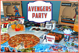 Avengers Party Decorations Calling All Avengers An Avengers Party