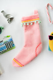 sew christmas stocking. Wonderful Christmas DIY No Sew Christmas Stocking  Legal Miss Sunshine Intended