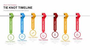 Timeline Ppt Slide Tie Knot Timeline Powerpoint Template And Keynote Slide Slidebazaar