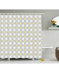retro shower curtain. Retro Shower Curtain Geometric Bold Cross Dots Print For Bathroom -