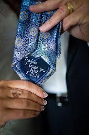 best 25 wedding gifts ideas on pinterest diy wedding gifts Wedding Blog Gifts sweet dad tie patch to give on the wedding day wedding gifts blog
