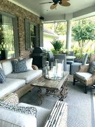 patio screened in patio decorating ideas covered designs small porch decoratin