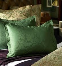 standard pillow shams. 2 Ralph Lauren Rutherford Park Jacquard Standard Pillow Shams Emerald | EBay N