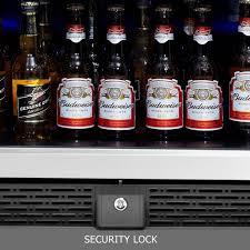beverage refrigerator glass door model