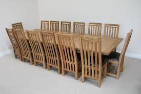 Large Oak Dining Table Seats 10 Modern Furniture Modern Outdoor Wood Furniture Large Ceramic