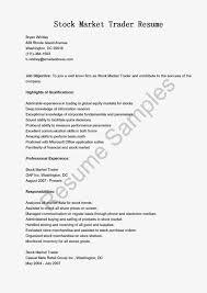 Sample Traders Resume Forex Trader Resume Sample Futures Broker Sample Resume