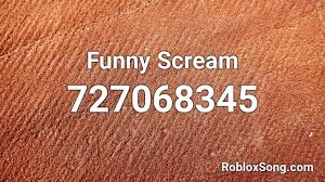 Roblox music codes rap is a list of id codes for the rap songs in roblox. Funny Scream Roblox Id Roblox Music Codes
