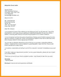 babysitting letter reference letter for babysitter necessary portray cover printable
