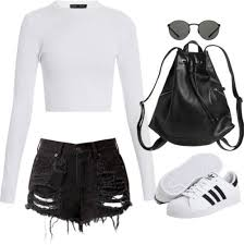 adidas shoes for girls. cool ways to wear outfits with adidas shoes (5) for girls