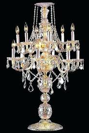 lamp small chandelier table lamp tremendous 9 crystal stunning with additional home white diamond