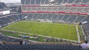 seat view for lincoln financial field section 204